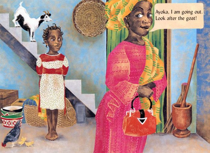 Catch the Goat! A Market Day in Nigeria (Yoruba) | Author: Polly Alakija