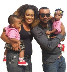 Muma Gee, Husband Prince Eke, and Her Twins