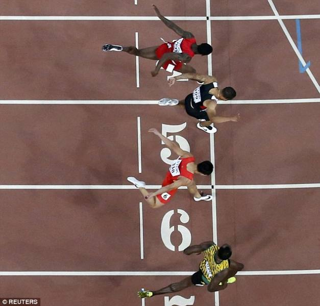 The millisecond that counts |©REUTERS