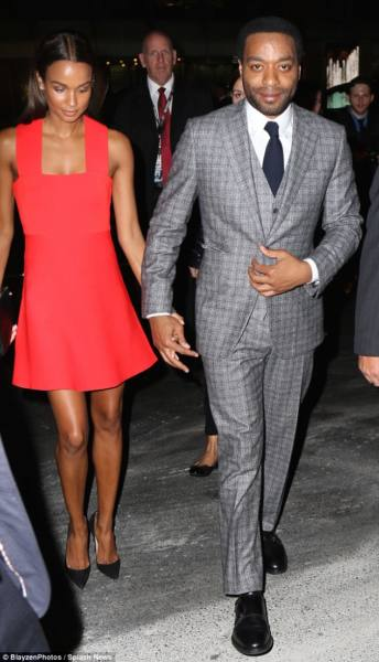 Chiwetel Ejiofor and Black date