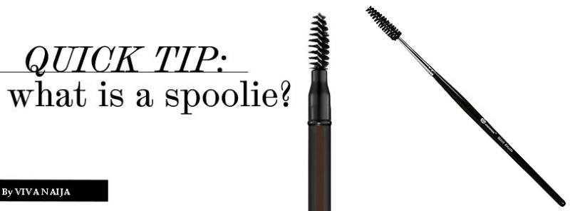 Spoolie Brush for Makeup