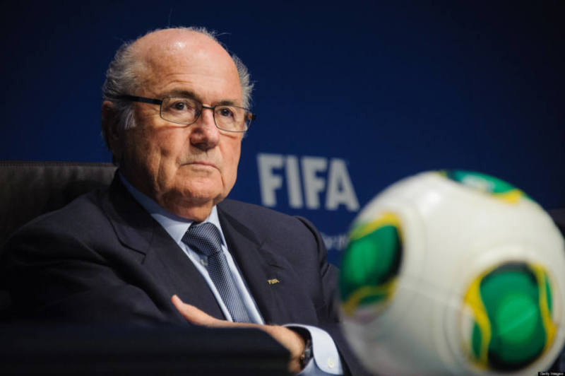 President of  FIFA, Joseph Blatter, attends the press conference following the meeting of the FIFA executive comittee in Zurich, on March 21, 2013.  AFP PHOTO / SEBASTIEN BOZON        (Photo credit should read SEBASTIEN BOZON/AFP/Getty Images)