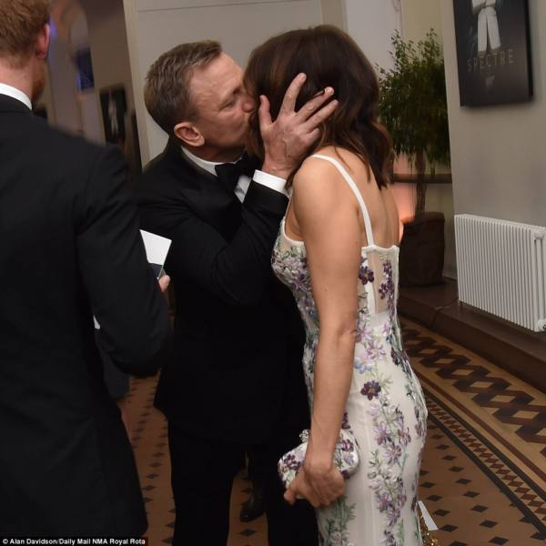 ©Alan Davidson/Daily Mail NMA Royal Rota| Daniel Craig and his leading lady, his wife, Rachel Weisz