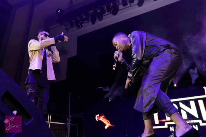 ©Sync Media|Phyno and Olamide tearing up London