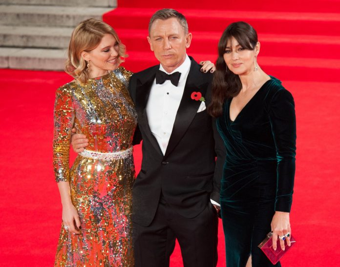 Lea Seydoux, Daniel Craig, Monica Bellucci -5 Feature
