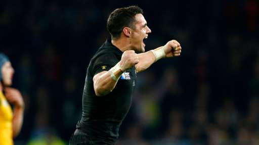 New Zealand win rugby world cup Dan Carter - Getty