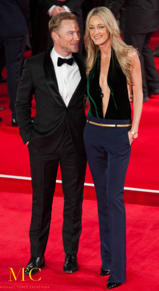 Ronan Keating and his wife, Storm Uechtritz