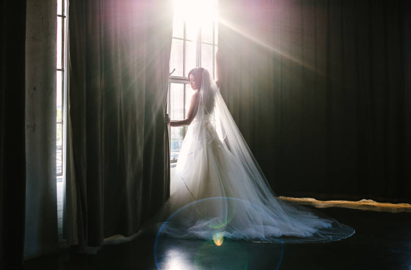 bridal gown dress black and white