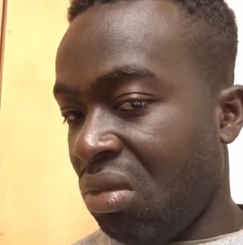 Disgusted Ghana Man Face