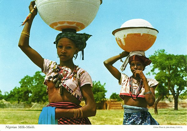 Fulani-MilkmaidsJohn-Hinde-Collection-1960s-1970s