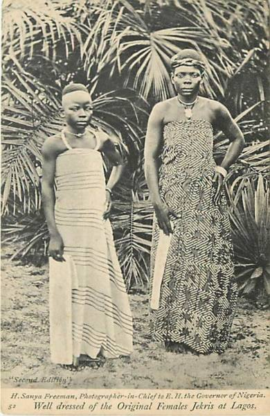 Itsekiri women circa 1910