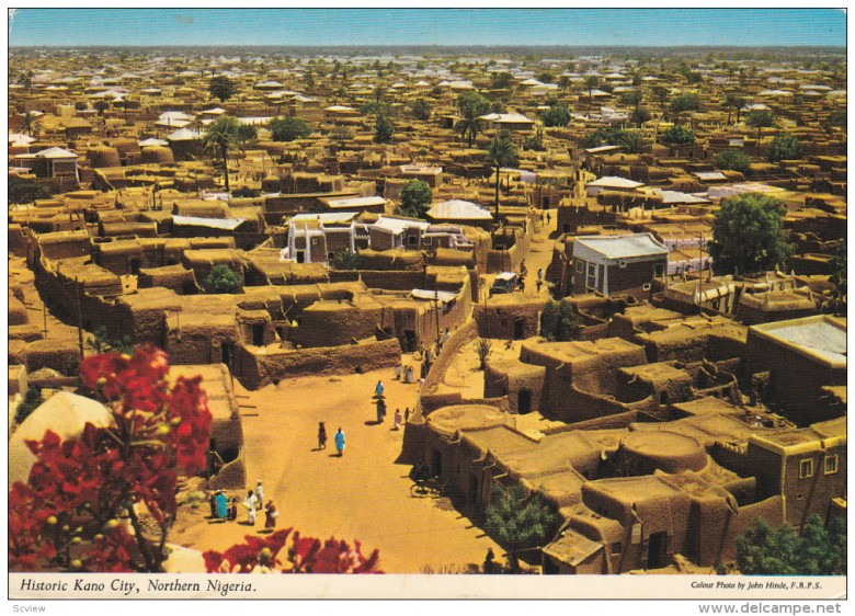 KANO-CITY-Nigeria-1950-1970s-General-View-Of-Historic-Kano-City-780x562