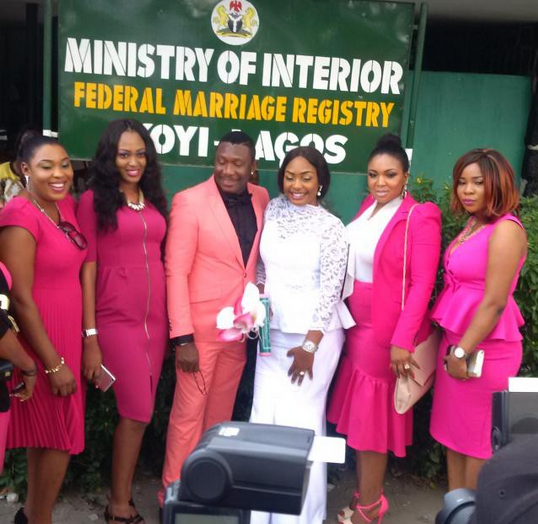 Nuella Njubigbo and Tchidi Chikere Marry Lagos Registry 5