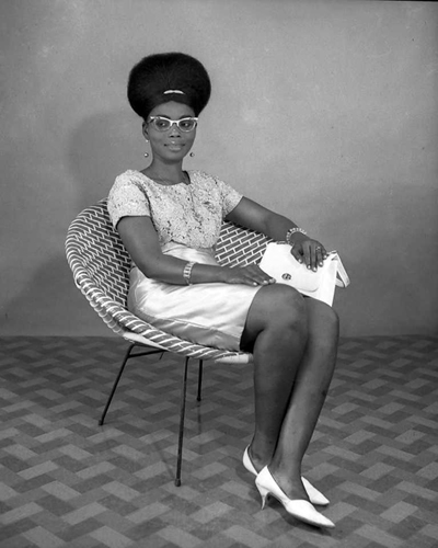 Shades of Swagger 51- From a Nigerian great, Studio portraiture by J.D. Okhai Ojeikere ca 1968