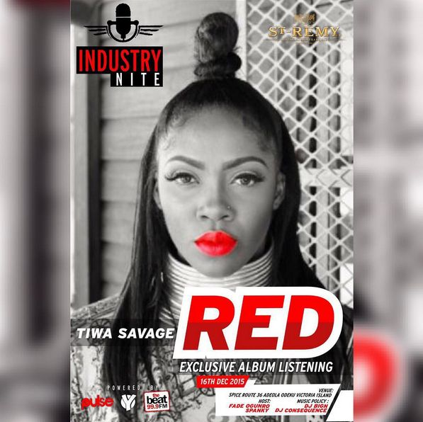 Tiwa Savage RED Album Listen