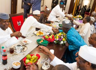buhari-dinner-aso-rock-budget
