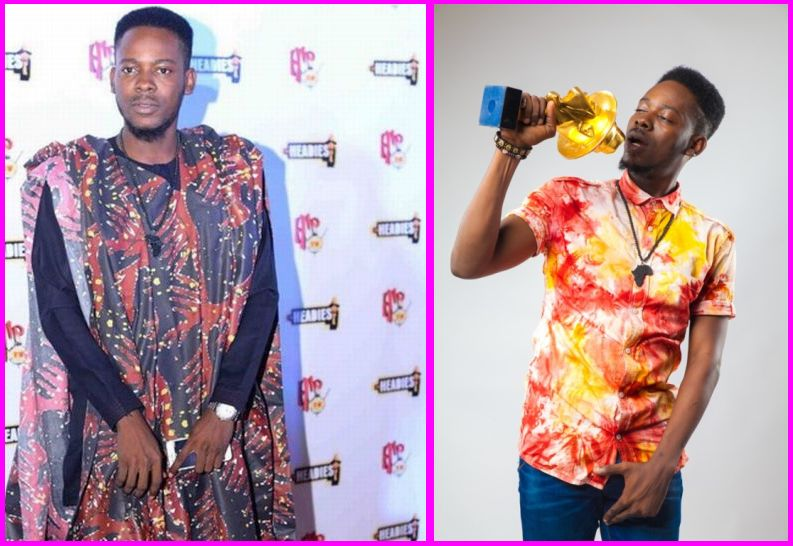 Adekunle at Headies Awards