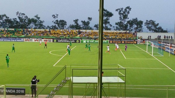 super eagles out of CHAN