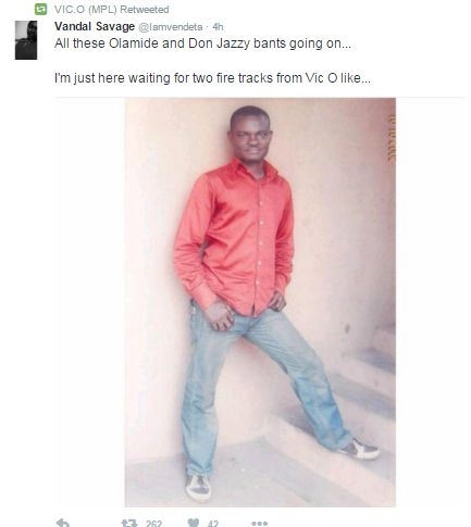 Olamide Don Jazzy Twitter Beef -VicO
