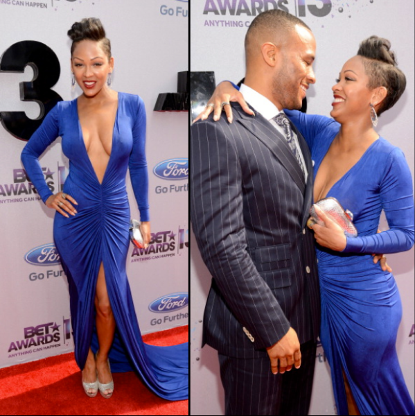 Meagan Good and husband DeVon Franklin