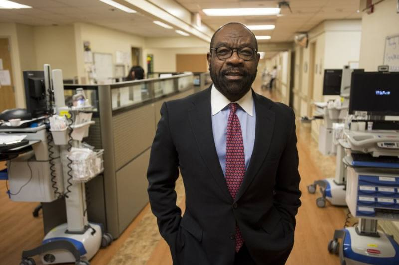 Michael Ugwueke is Chief Operating Officer of Methodist Le Bonheur Healthcare. (Brandon Dill/Special to The Commercial Appeal)