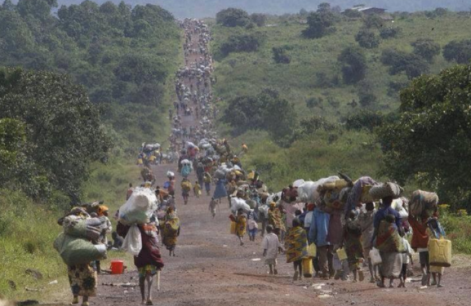 Northerners fleeing from Boko Haram
