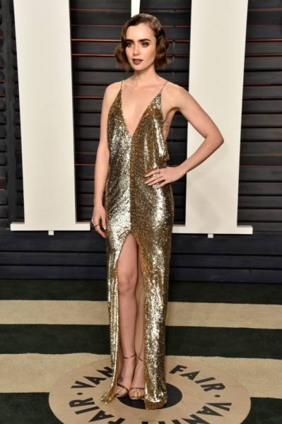 Oscars 2016 Lily Collins