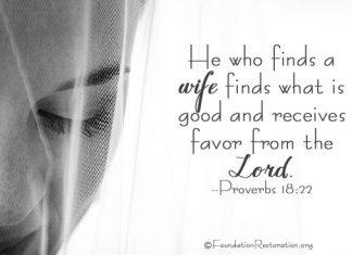 He Who Finds A Wife - Wedding Bride