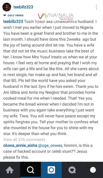 Teebillz Tiwa Savage -5