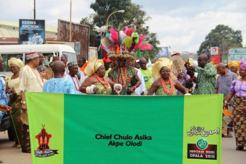 Chief Asika wives