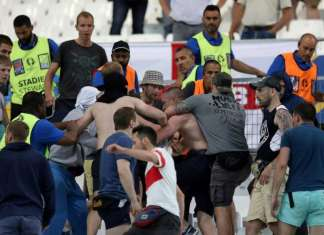 ©Independent|Russia England Fans - UEFA 2016