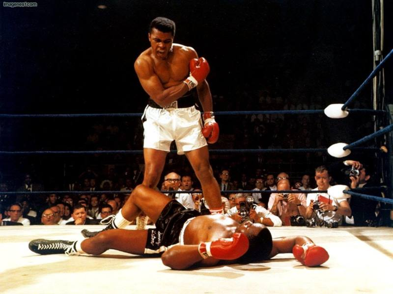 Muhammad Ali knock out