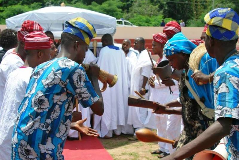The arrival of the ooni of Ife -4