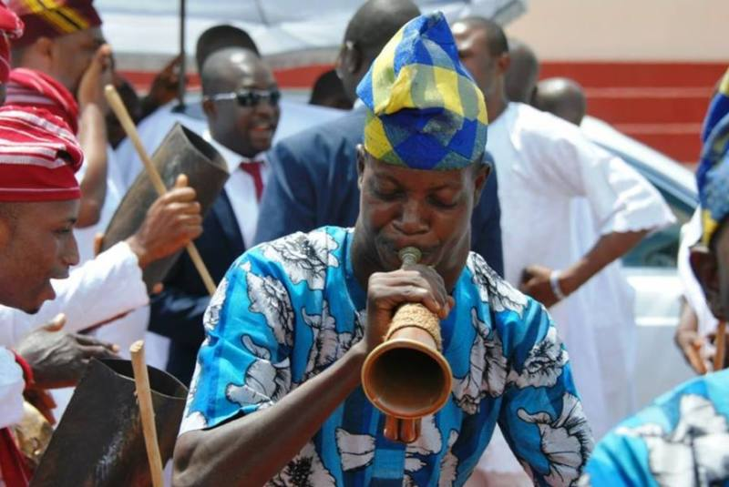The arrival of the ooni of Ife -5