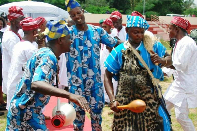 The arrival of the ooni of Ife -8