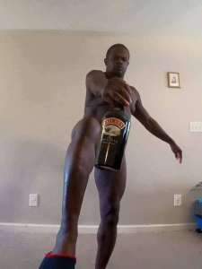 ©Facebook|Weird naked man with drinks -2