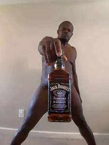 ©Facebook|Weird naked man with drinks -8
