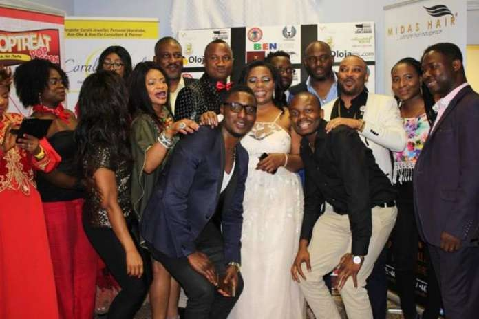 69 - The Movie - TY Moore cast and crew - red carpet