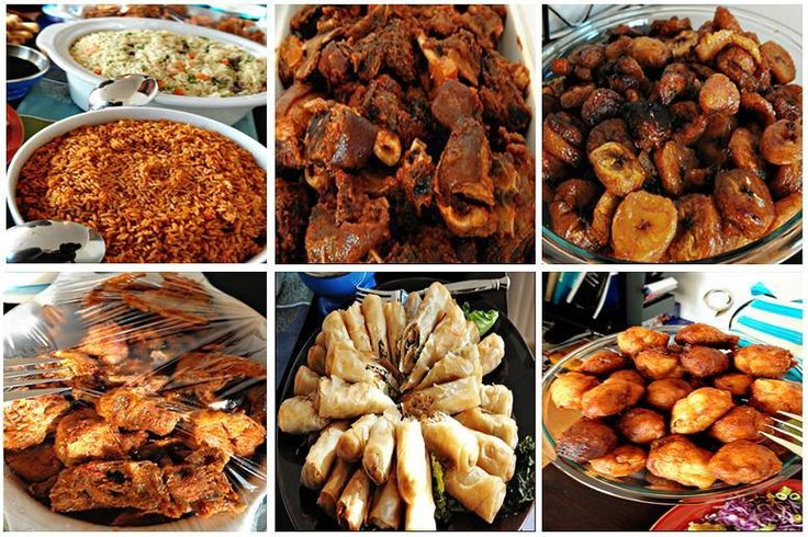 But then again with such delicious food available can you really blame them? (5 kinds of people you will meet at a Lagos party)
