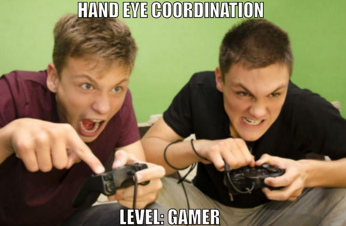 level-gamer (7 benefits of playing Video games)
