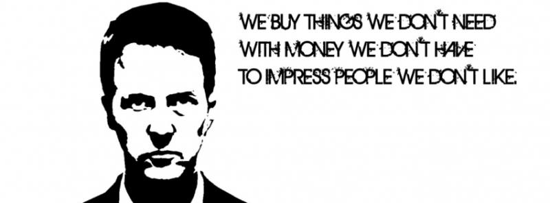 buy-things-we-dont-need (Living life under pressure)