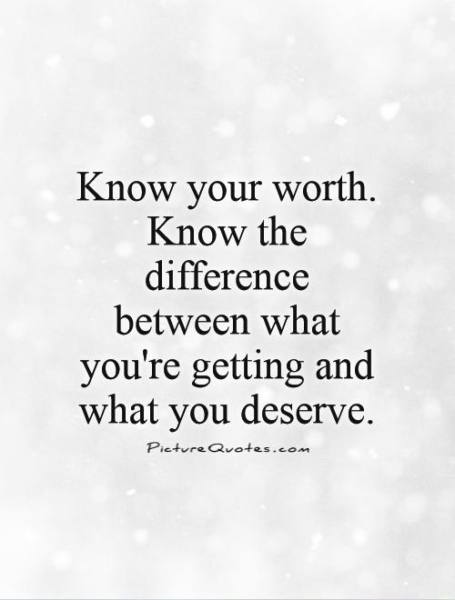 know-your-worth (Moving on when relationships end)