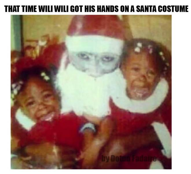 Some Xmas Laughter: 6 Hilarious Father Christmas Memes