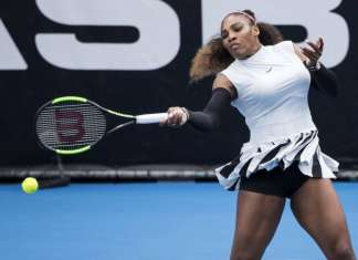 Serena Williams - ASB Classic - AP
