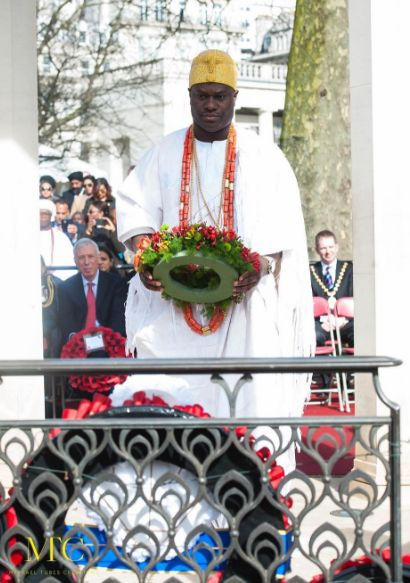 Ooni of Ife in the UK