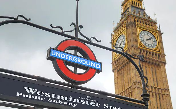 Westminster Station - Big Ben