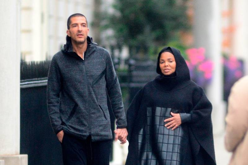PAY-PROD-EXC-Pregnant-Janet-Jackson-pictured-with-husband-Wissam-Al-Mana-in-London