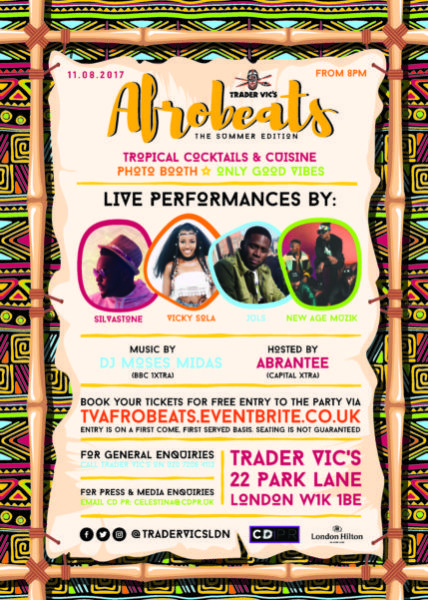 Afrobeat Aug 17 ARTISTS