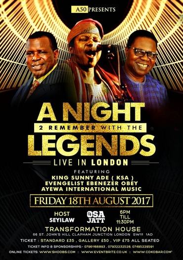 A Night To Remember with the Legends