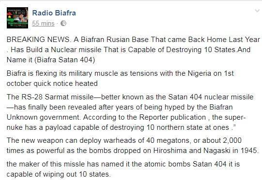 Biafra Nuclear Weapon 2